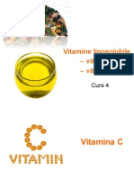 C4- Vitaminele C Si D