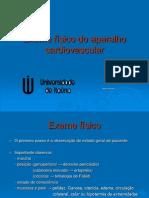 Exame F+¡sico do Aparelho Cardiovascular