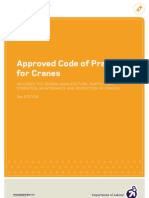 Approved Code of Practice of CRANE NZ