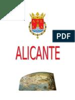 Trabajo de Geografia Alicante