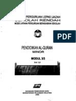 Pend AlQuran Minor 3-3