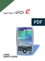 Genio e550g User Manual