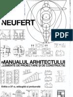 Neufert - Manualul Arhitectului