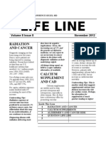 LIFE LINE - Volume 8 Issue 8 - November 2012