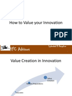 How to Value Your Innovation