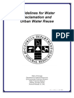 Guideline for Water Recalamation and Urban Water Reuse