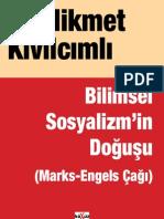 123938204 Hikmet Kivilcimli Bilimsel Sosyalizmin Dogusu