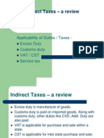 Indirect Taxes – a review_Defence
