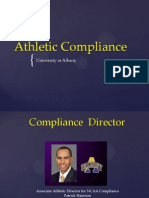 Athletic Compliance