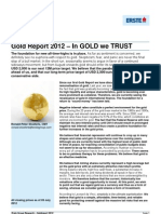 Special Report Gold 2012