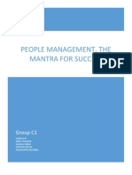 People Management Mantra for Success