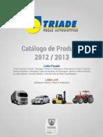 TRIADE CATÁLOGO GERAL 2012_2013