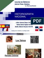HistorioGrafia Nacional Dominicana