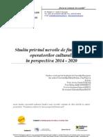 Studiu Privind Nevoile de Finantare 2014-2020