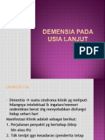 17. Demensia Pada Lansia