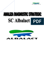Analiza Diagnostic Strategic Albalact