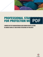 23833247 Professional Standards for Protection Work Carried Out by Humanitarian and Human Rights Actors in Armed Conflict and Other Situations of Violence
