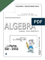 Algebra 2012