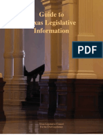 Guide to Texas Legislative Information