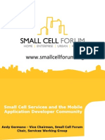 Small Cell Services - Small Cell Forum