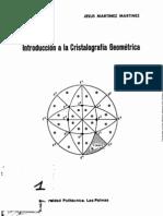 Introduccion a La Cristalografia Geometrica