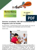 Governo recadastra 120.168 beneficiários do Programa Leite da Paraíba