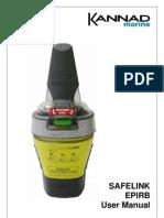 Kannad Marine SafeLink EPIRB User Manual