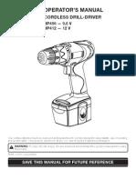 Ryobi Drill Manual