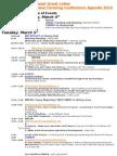 Indigenous Farming Conference Agenda 2013