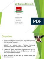 Sales and Distribution Management of Amul