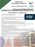 IX Exame Administrativo - SEGUNDA FASE