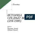Sidni Peinter Istorija Srednjeg Veka 284 1500