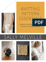 Excerpt - Knitting Pattern Essentials by Sally Melville