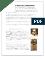 4 Edades de La Filosofia Antigua, Medieval