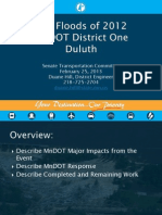 MNDOT presentation on Duluth flooding (2/25/13)