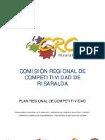 RISARALDA - Plan Regional de Competitividad - 2008