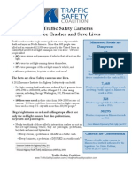 Minnesota One-Pager on red light cameras- 2-25-13