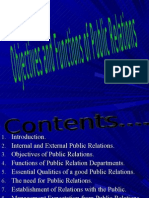 Objectives and Functions of Public Relations Chpt 2 BMS