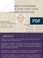 document clustering based on topic maps using k-modes algorithm