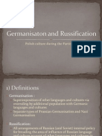 Germanisaton and Russification