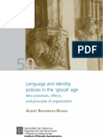 Language and Identity Policies in the 'glocal' age
