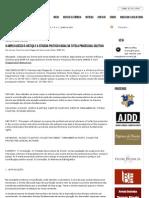 Processos Coletivos - O amplo acesso à justiça e a eficácia político-social da tutela processual coletiva