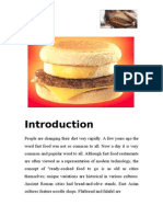 Term paper on World Food