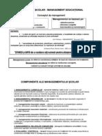 Prezentare Management Scolar Management Educational I