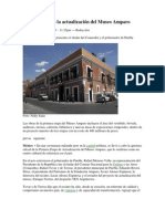 23-02-2013 Milenio -  Fue inaugurada la actualización del Museo Amparo.pdf