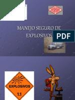 Manejo Seguro de Explosivo