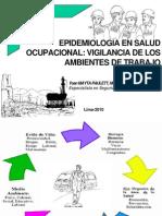 3 Epidemiologia Ocupacional Vigilancia de Los Ambientes de Trabajo