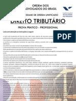 IX Exame Tributário - SEGUNDA FASE