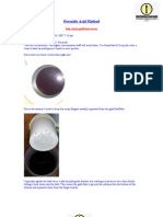 Peroxide Acid Method