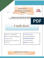 Audit Fiscal Et Gestion Du Risque Fiscal